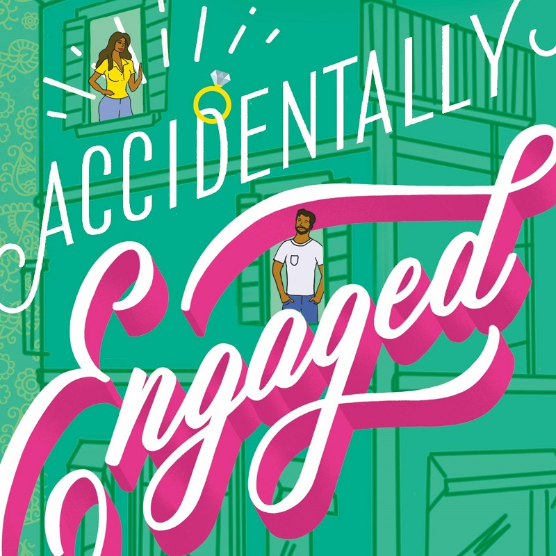 Cropped version of the cover of Accidentally Engaged by Farah Heron